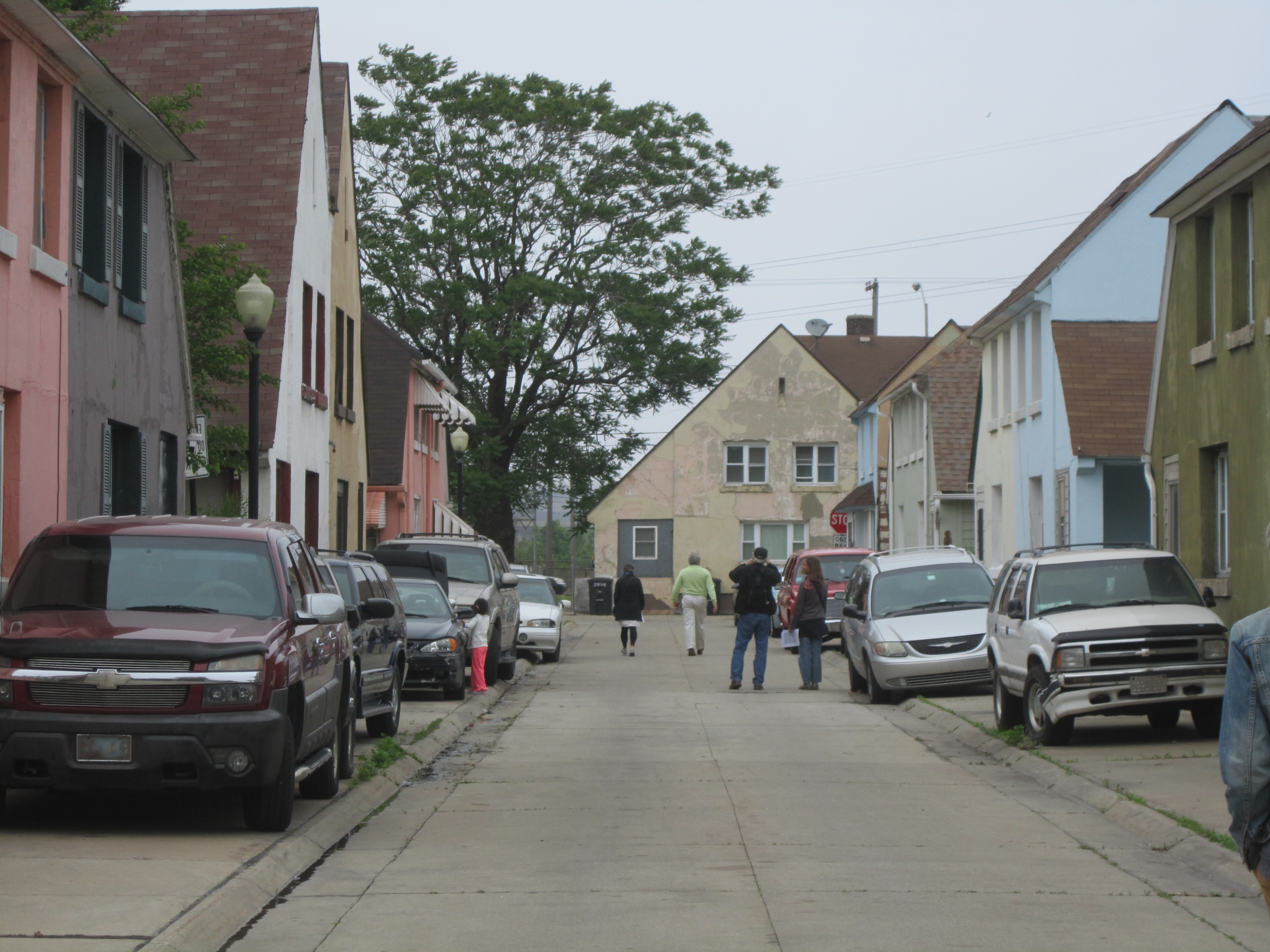 VAF Tour of Marktown, photo courtesy of author