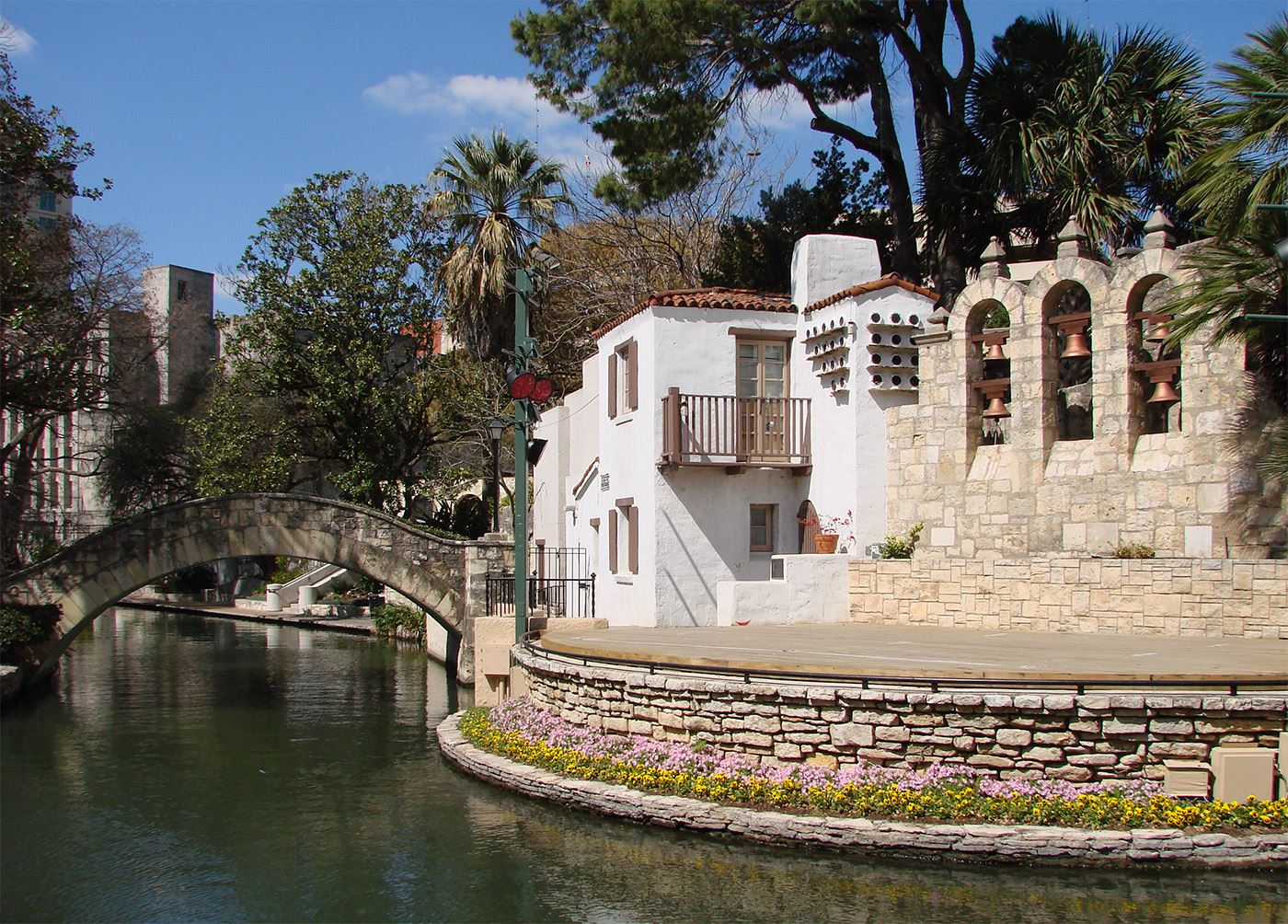 San Antonio River Walk, photo courtesy of Kenneth Hafertepe